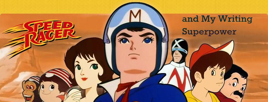 Speed Racer banner 1970s