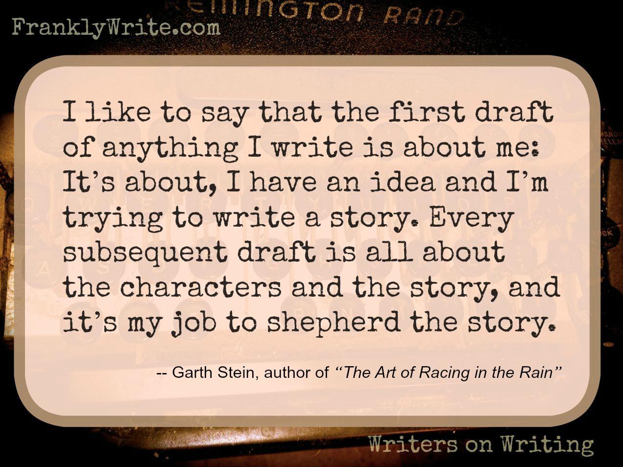 Garth Stein Story